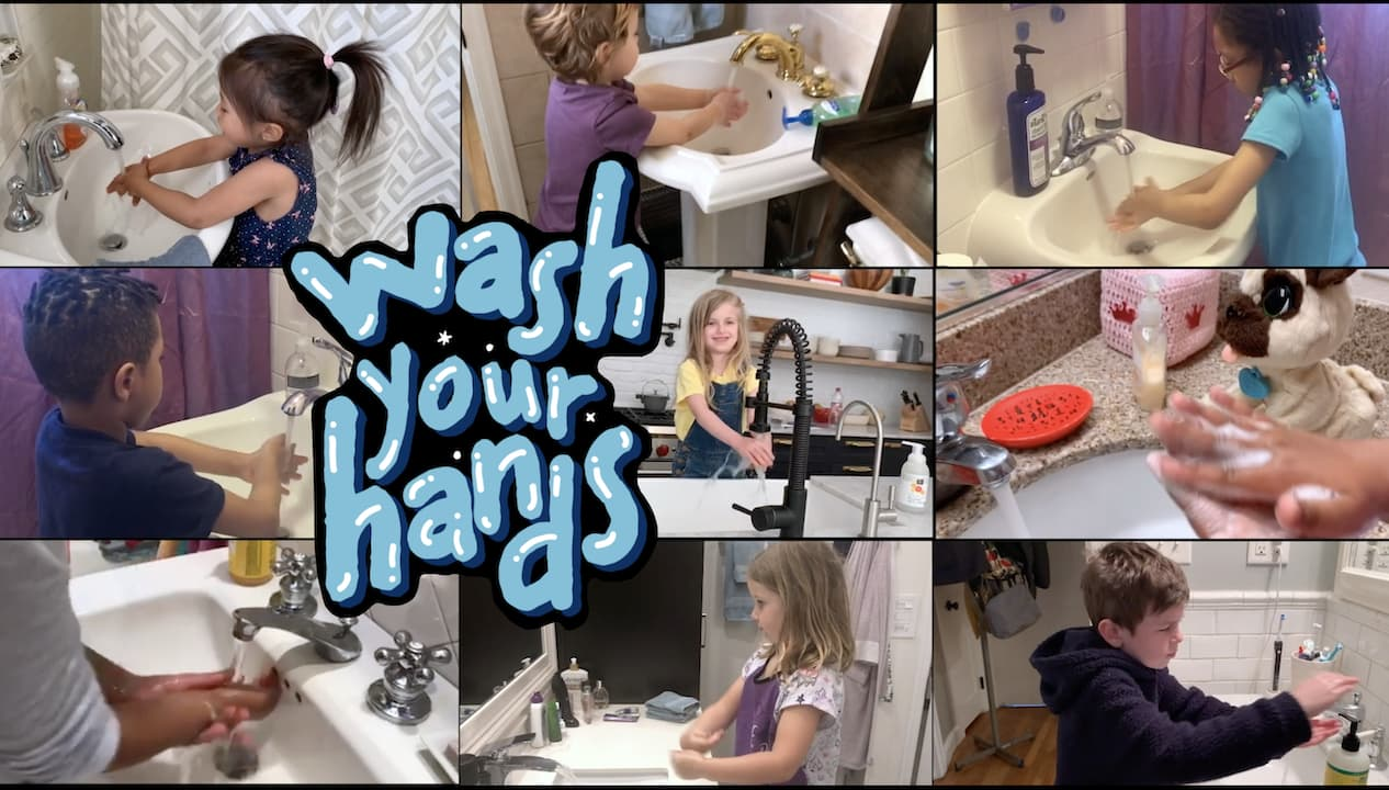 """""""Wash Your Hands"""" Music Video"""