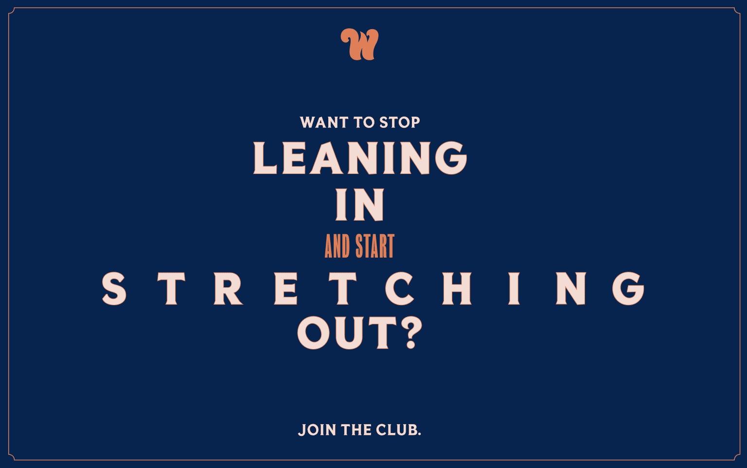 Join The Club Campaign