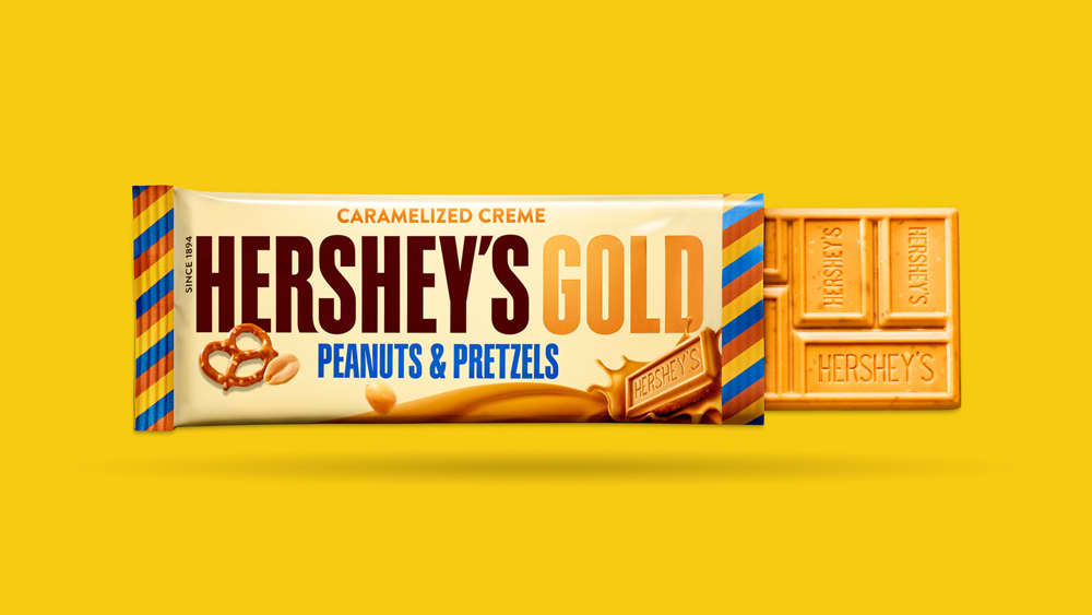 Hershey's Gold - Brand Identify, Campaign Launch