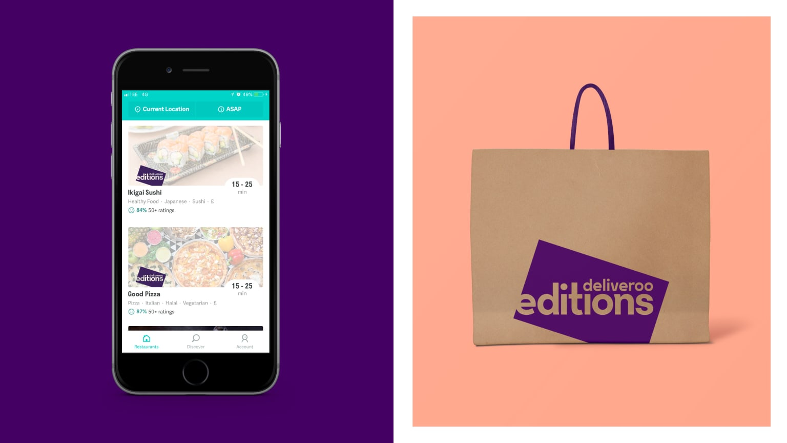 Deliveroo Editions: brand identity & launch