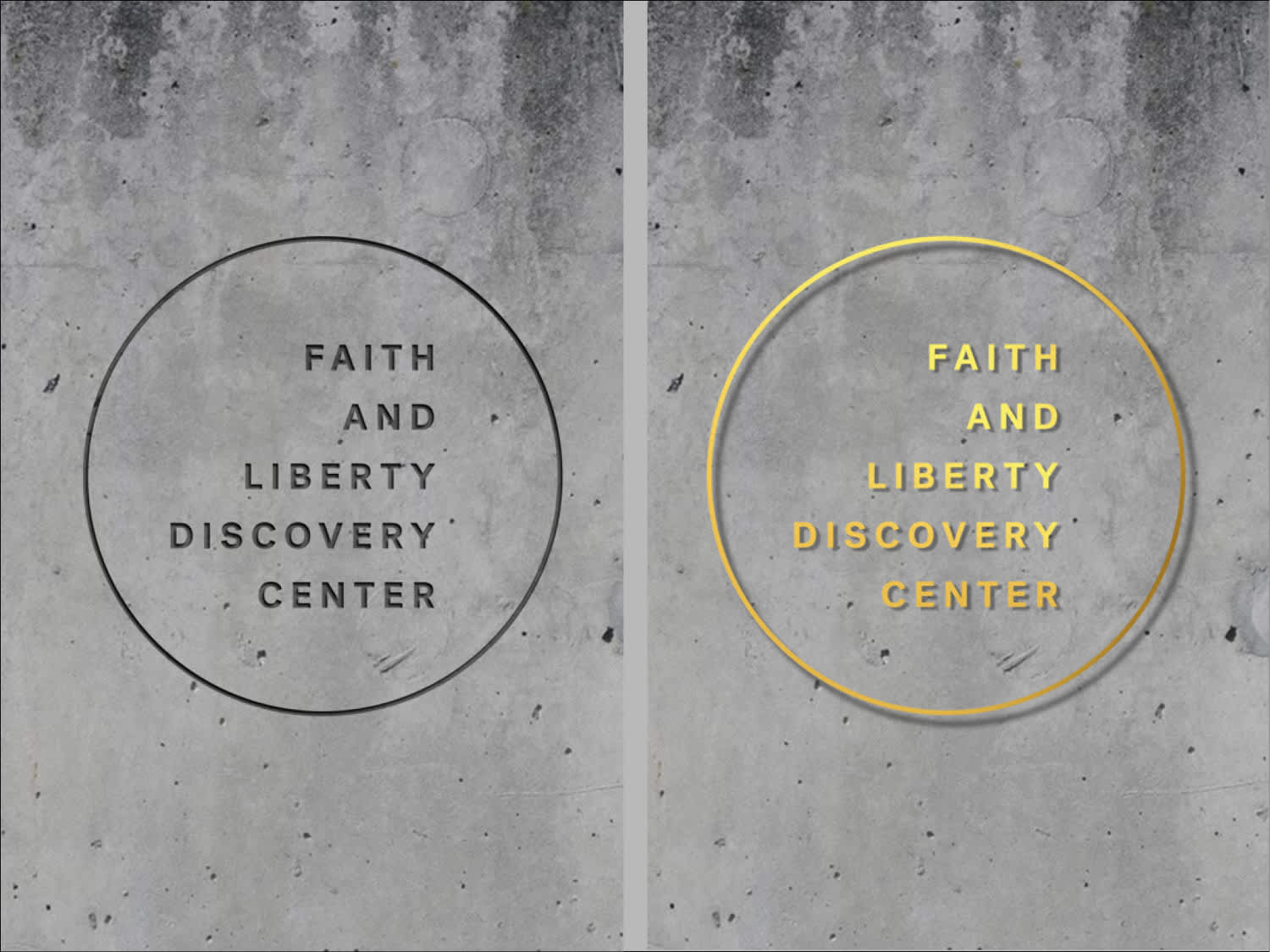 Faith and Liberty Discovery Center: Branding