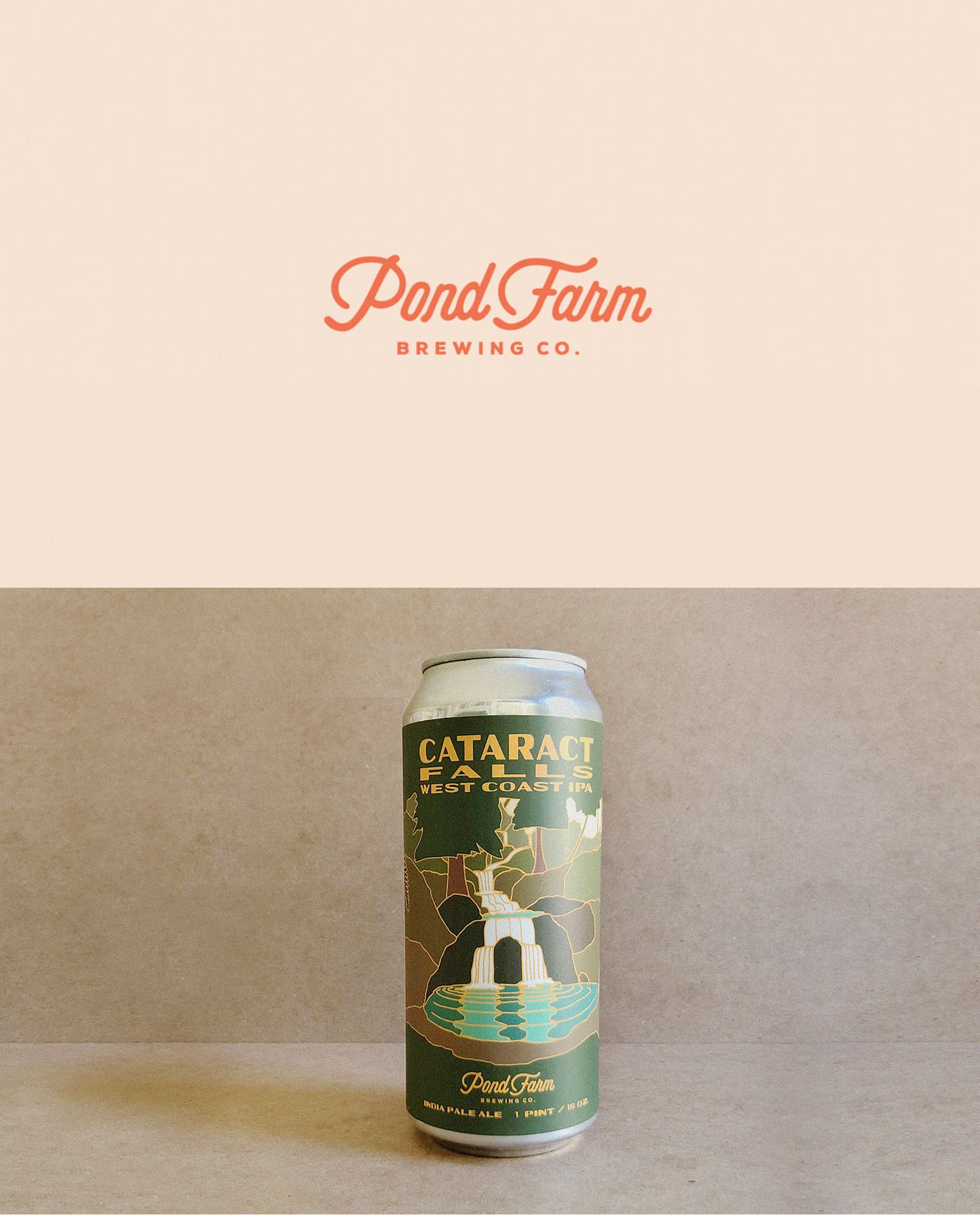 Pond Farm Brewing Co. Branding