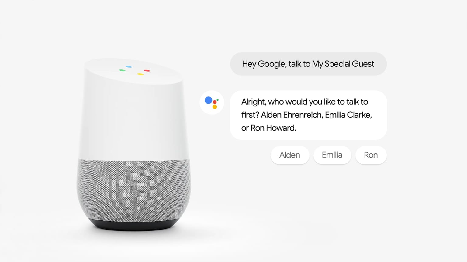 My Special Guest - Google Assistant