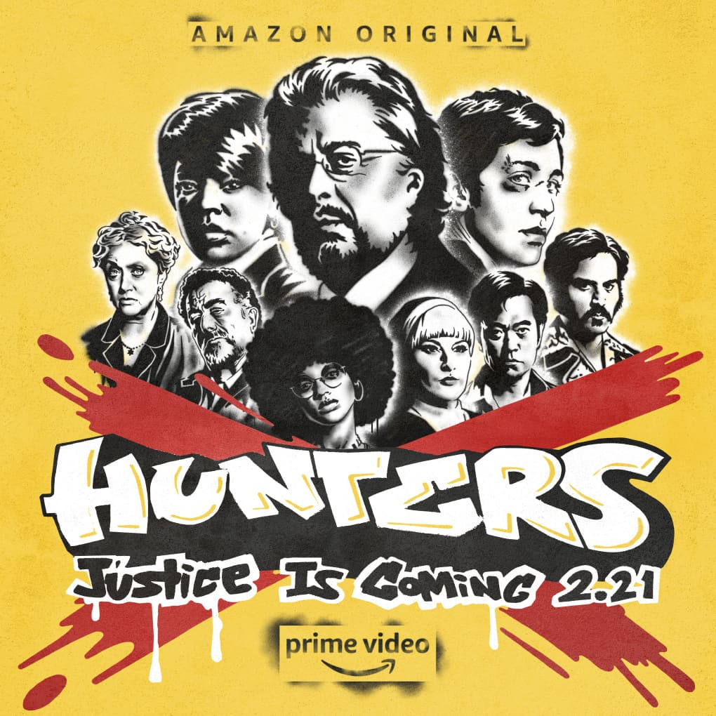 HUNTERS — Murals and Subway Wraps
