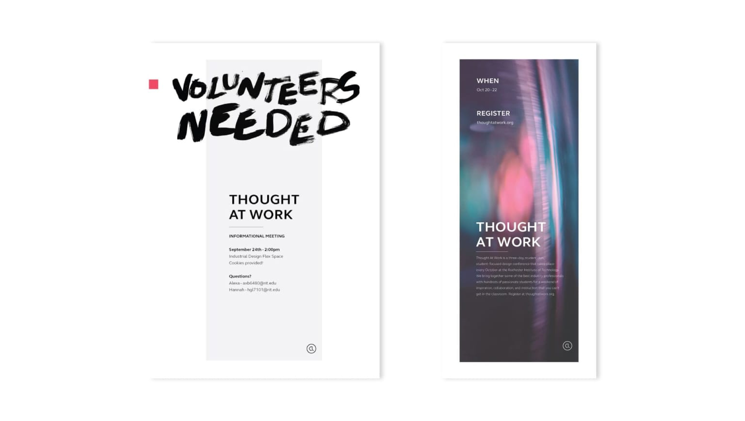 THOUGHT AT WORK — Design Conference