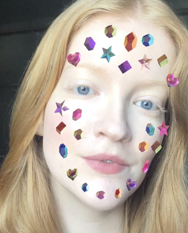 'Bejeweled' AR Face Filter For Instagram