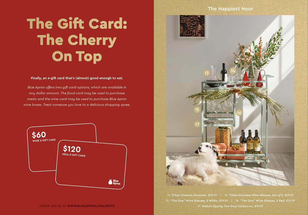 Blue Apron Holiday Gift Guide