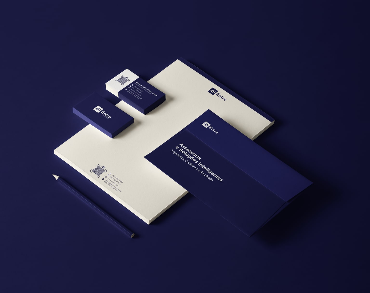ENTRE Investments / Brand / Website / Logo Design