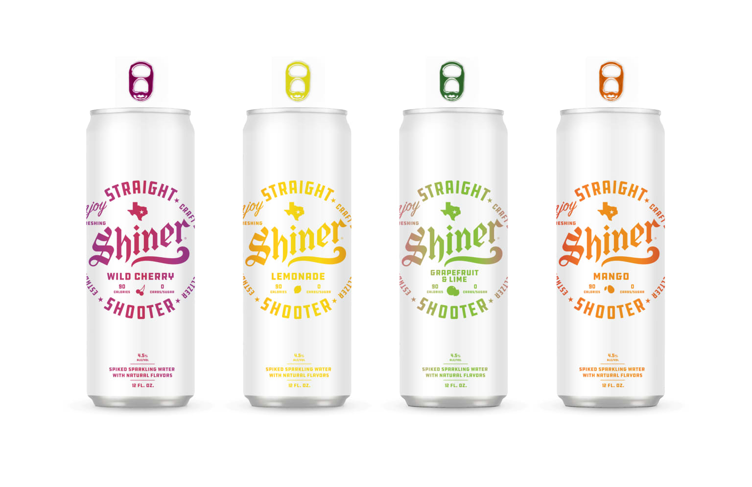 Shiner Craft Seltzer Packaging