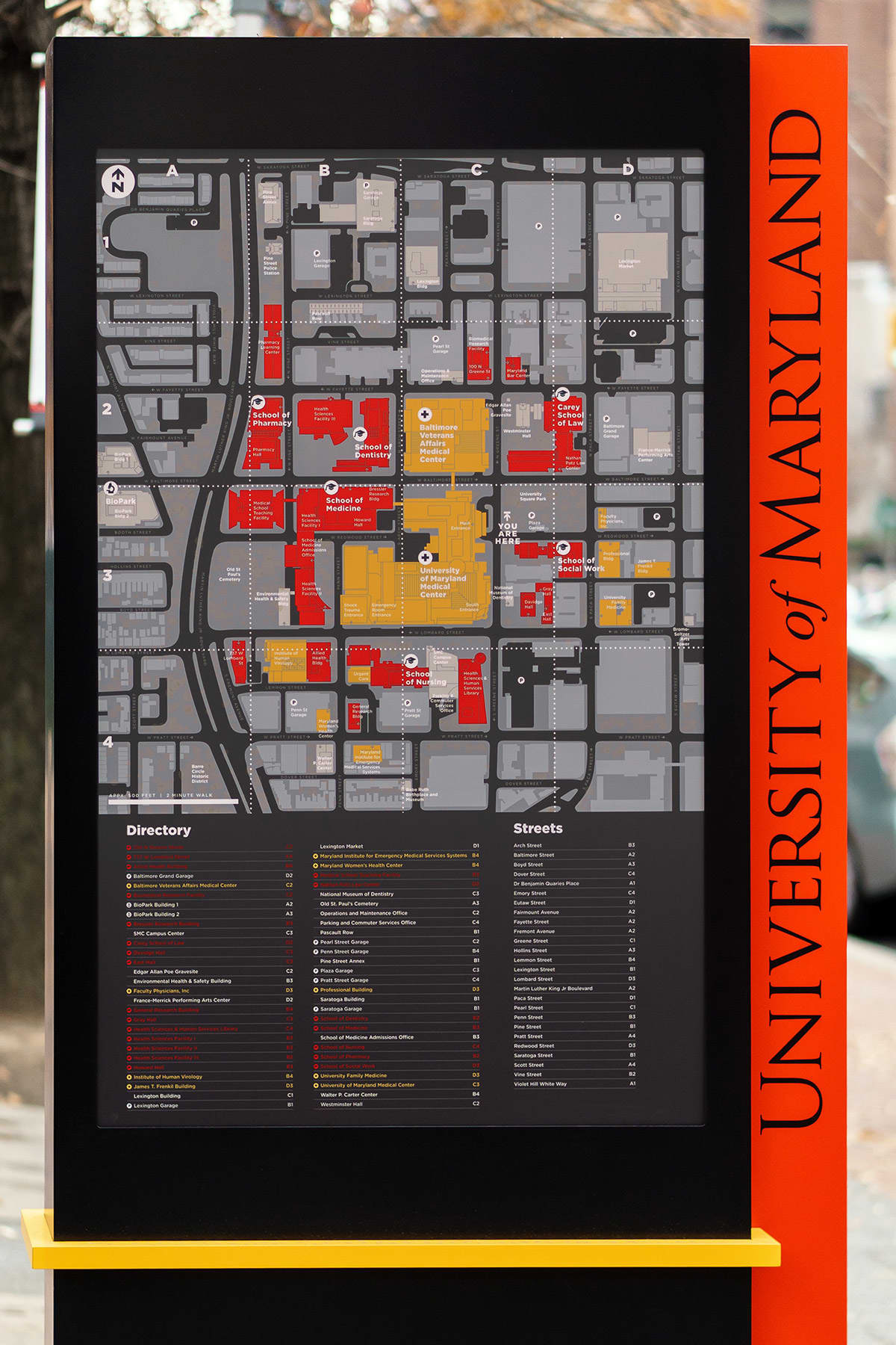 Mapping for The University of Maryland
