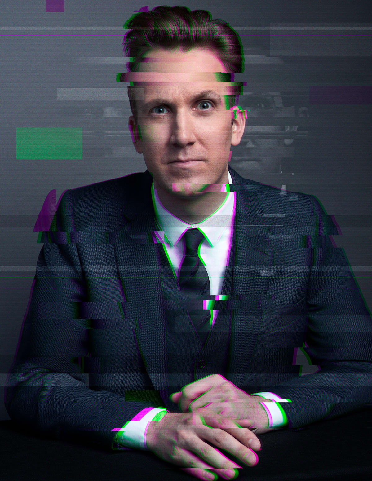 Comedy Central's The Opposition w/ Jordan Klepper Glitch Portraits