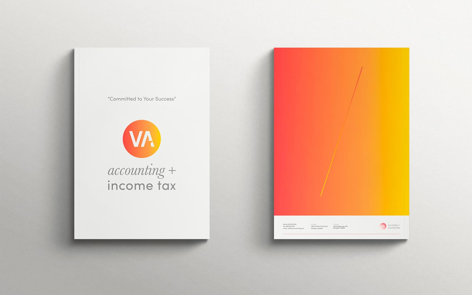 VA + Accounting + Income Tax brand system