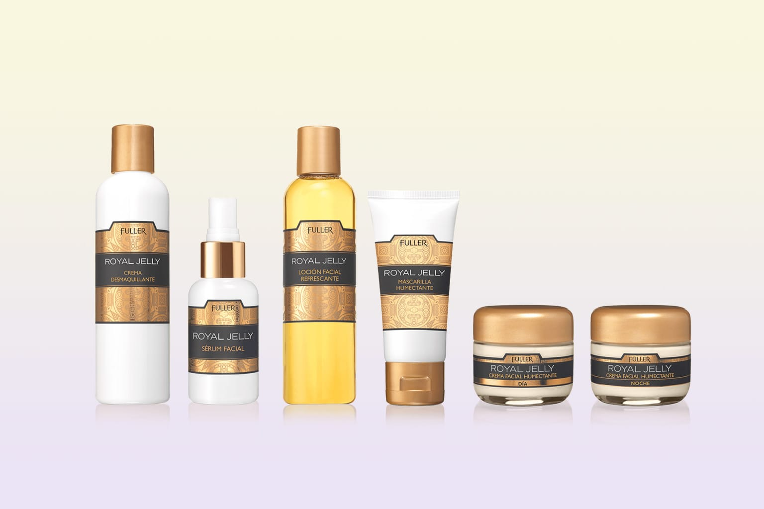 Royal Jelly - skincare packaging redesign