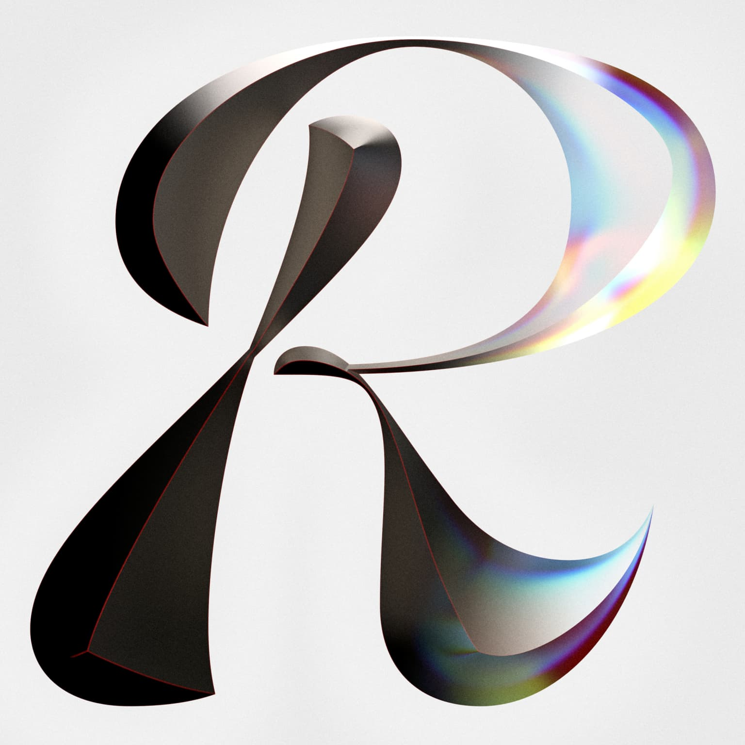Letter R Exploration - From iron to glass
