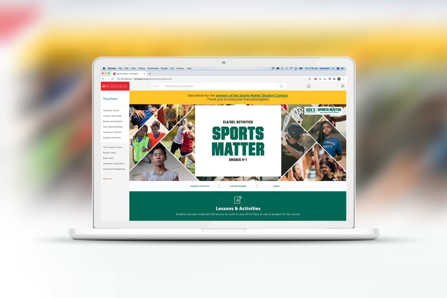 Dick's Sporting Goods Foundation Sports Matter
