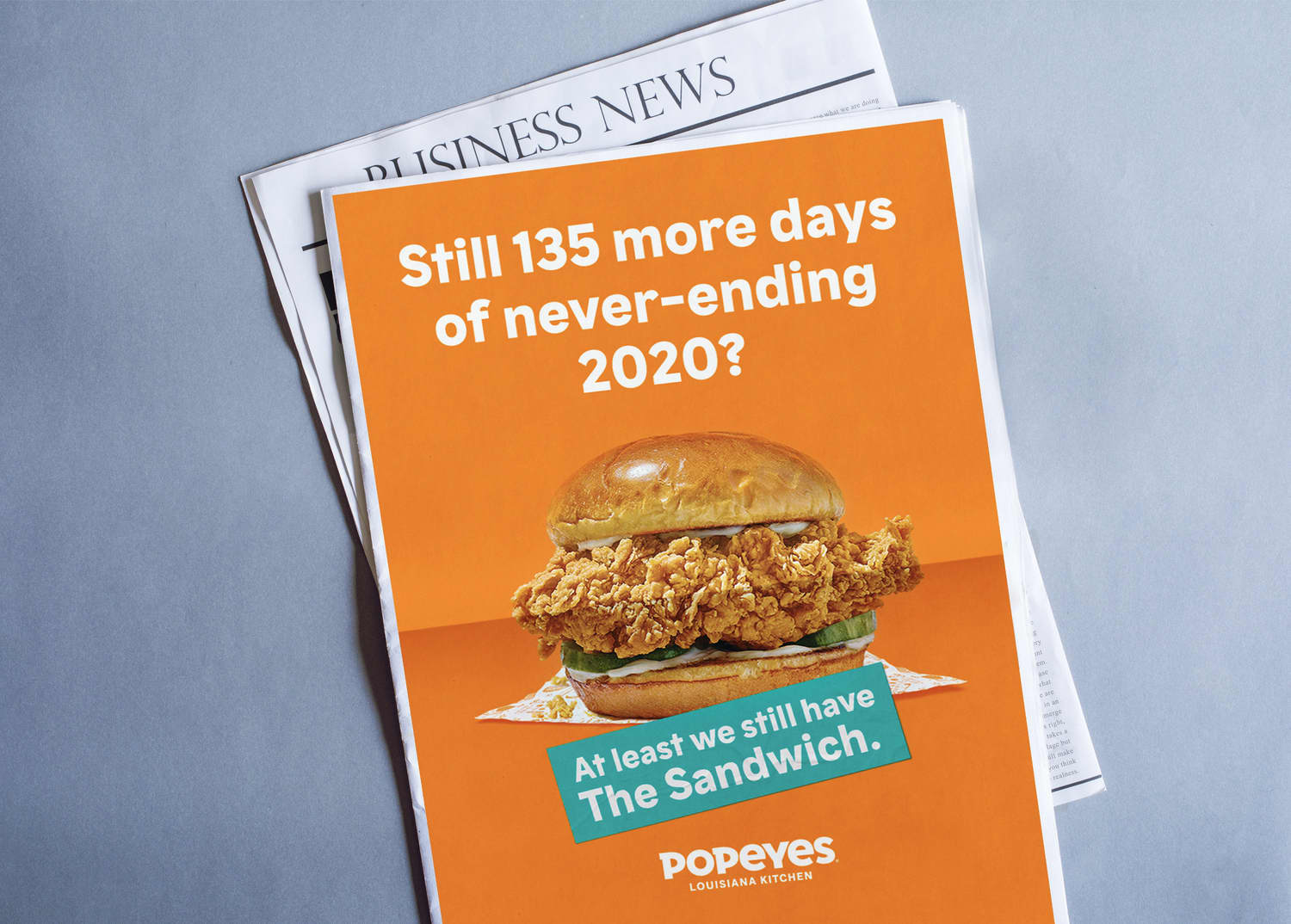 Popeyes: At Least We Still Have The Sandwich