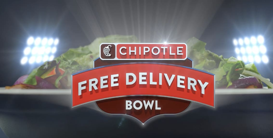 Chipotle 'Free Delivery Bowl'