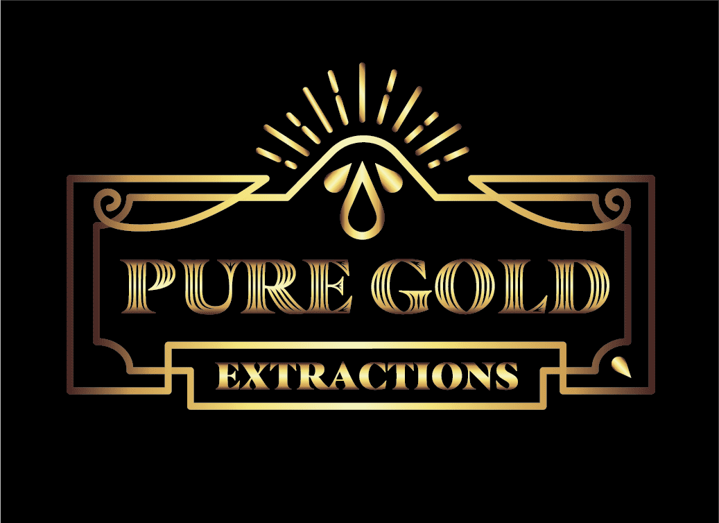 Pure Gold Extractions Logo Design