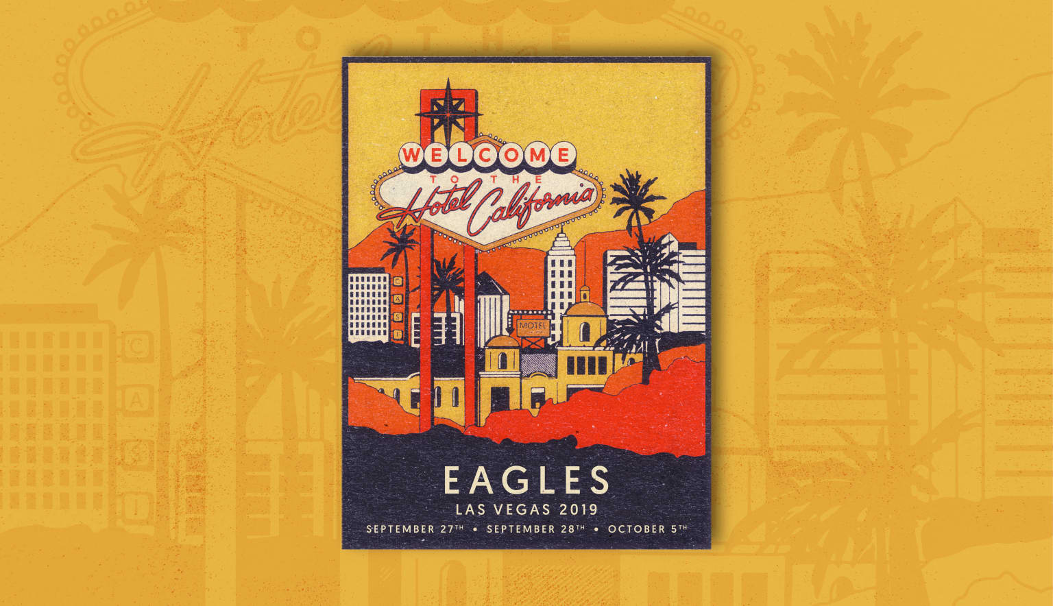 The Eagles Tour Poster