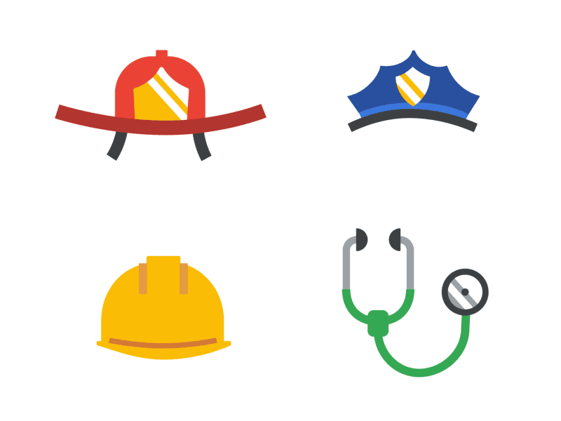 Google Homepage Promotion - First Responders Day