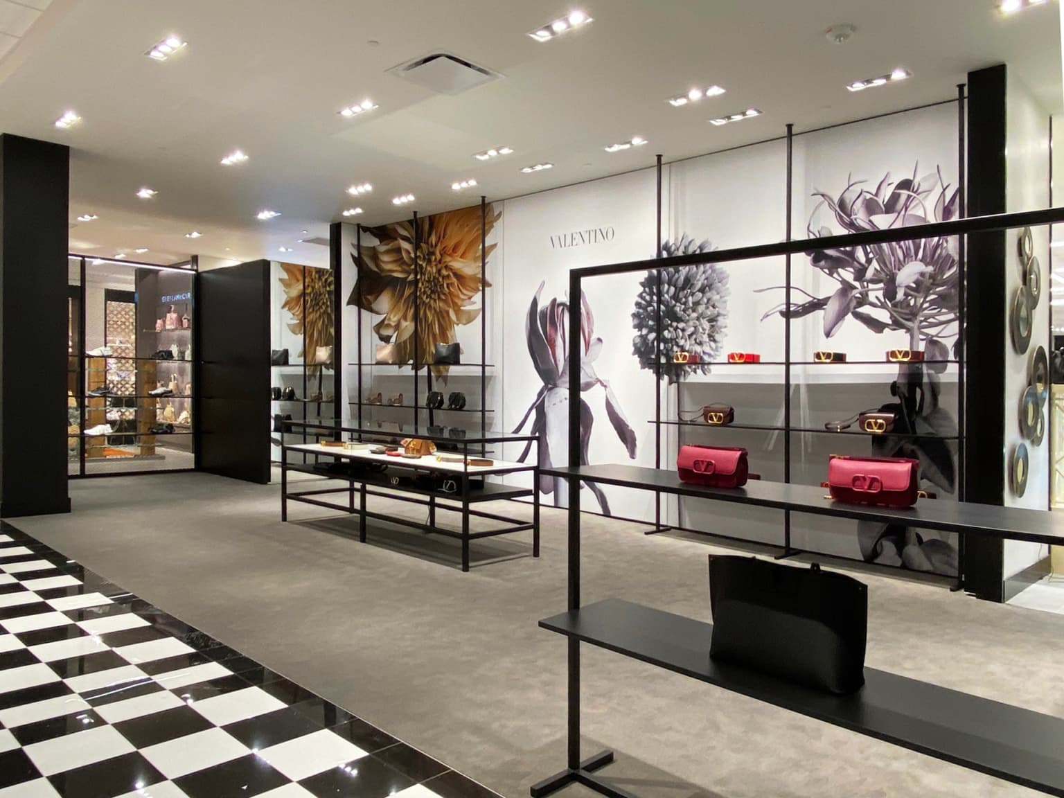 Valentino - 2020 Bloomingdale's Westfield Valley Fair Temporary store