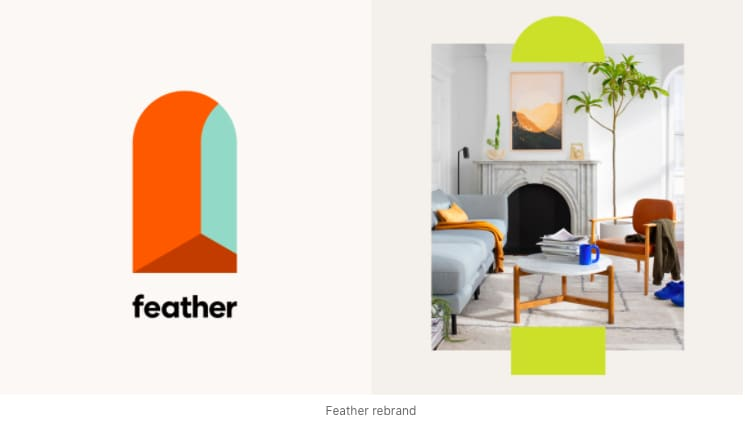 FEATHER branding and relaunch