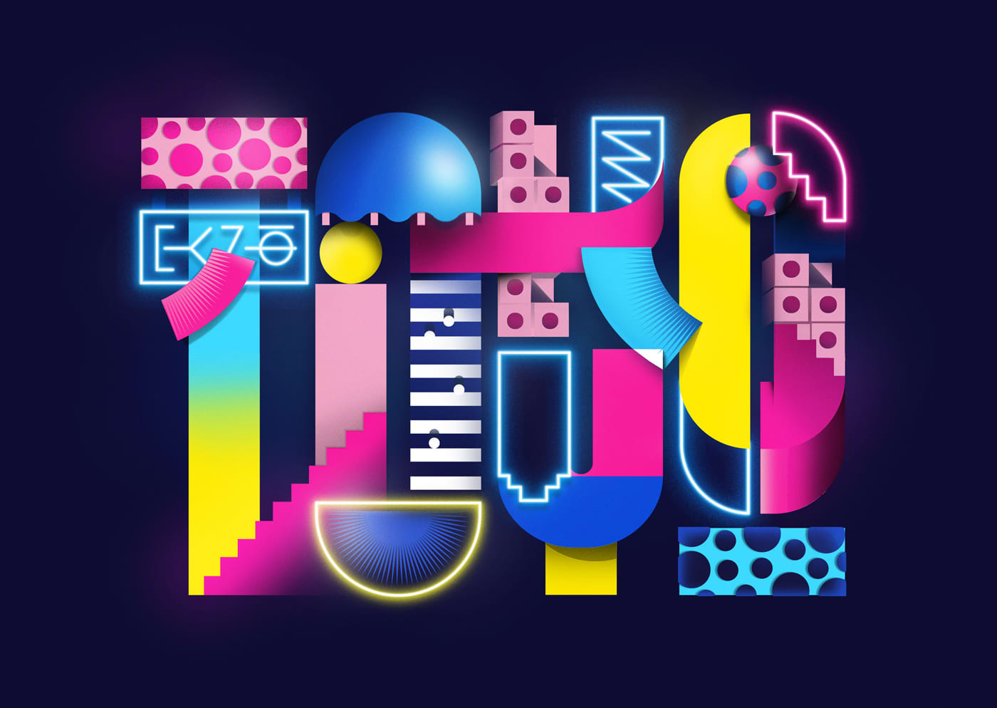 Tokyo Illustrated Lettering