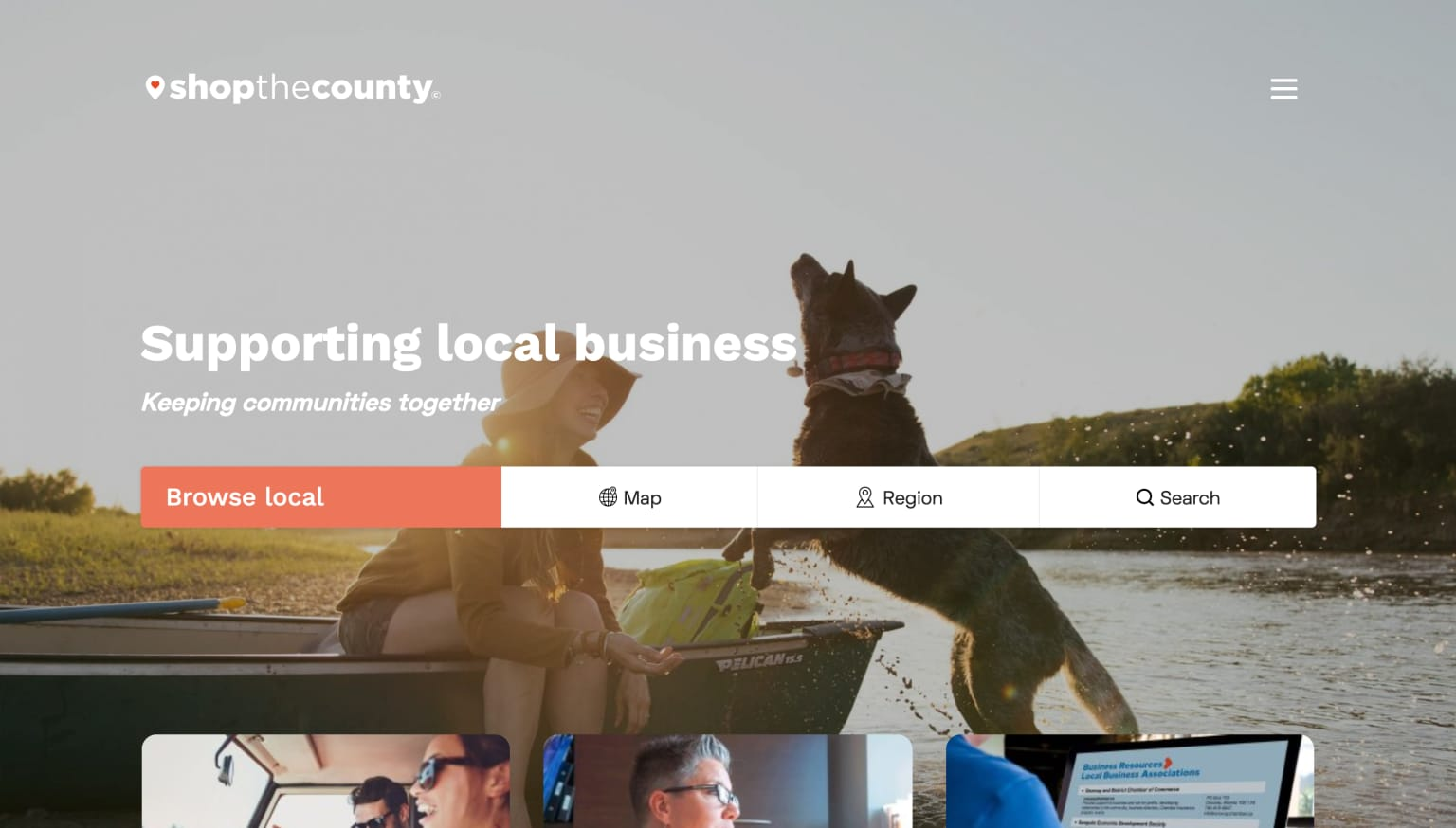Shop the County local business network