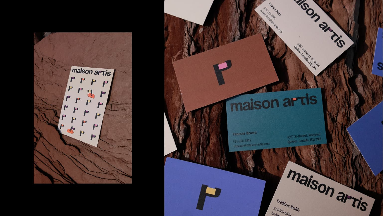 Maison Artis - Identity & Creative direction