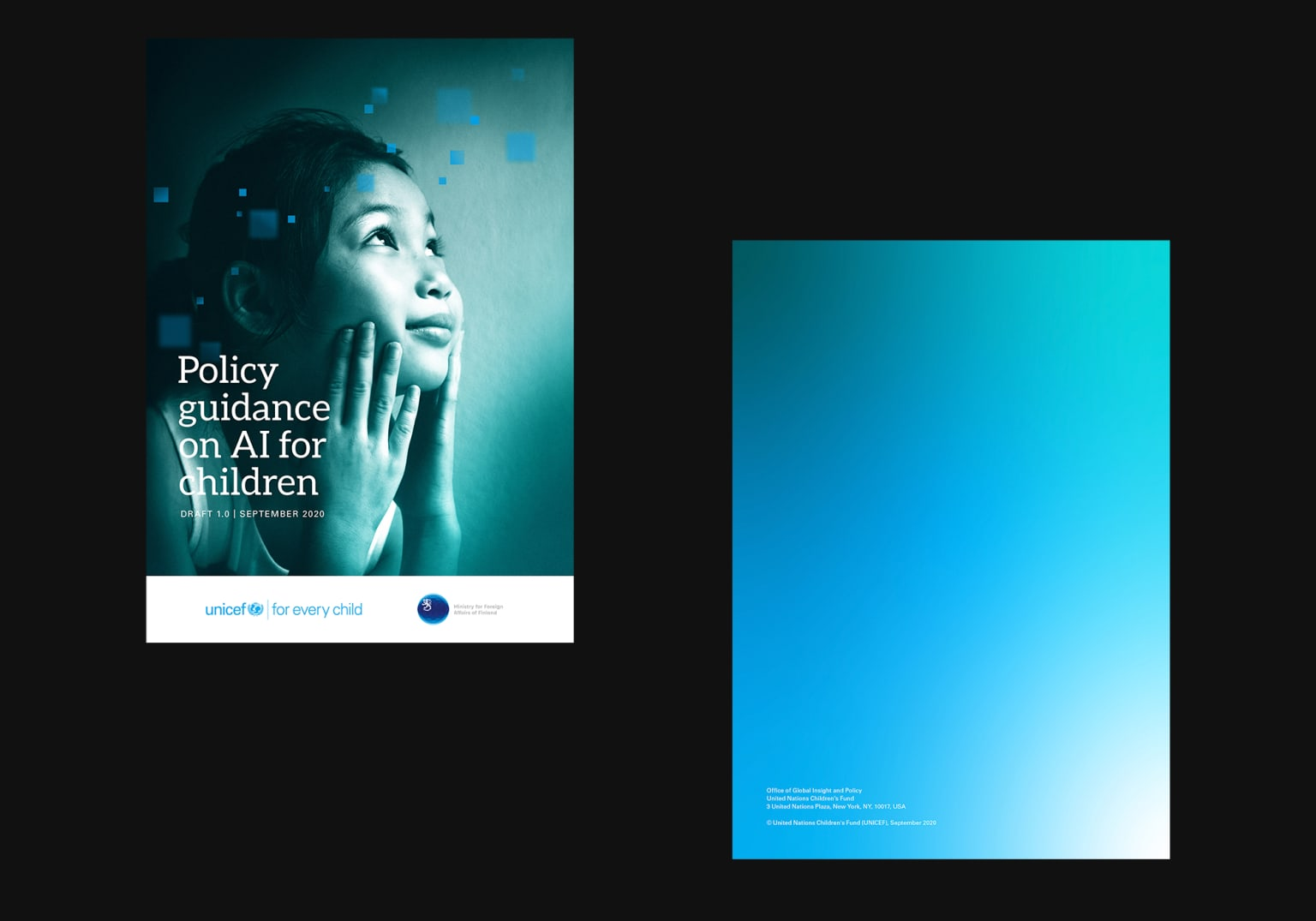 UNICEF - Policy Guidance on AI for Children