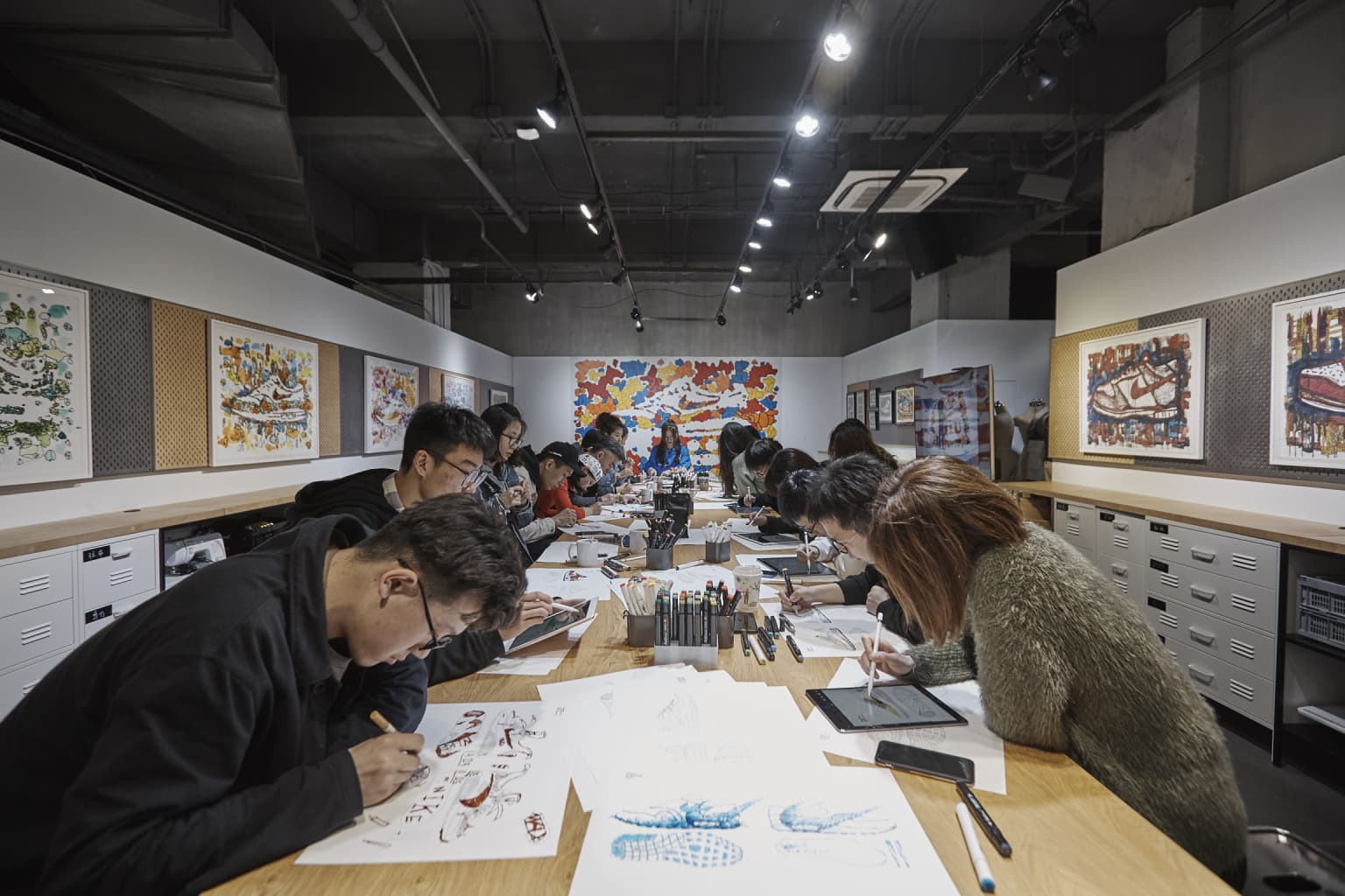 "Nike ""On Air Studio"" Exhibit & Workshop"