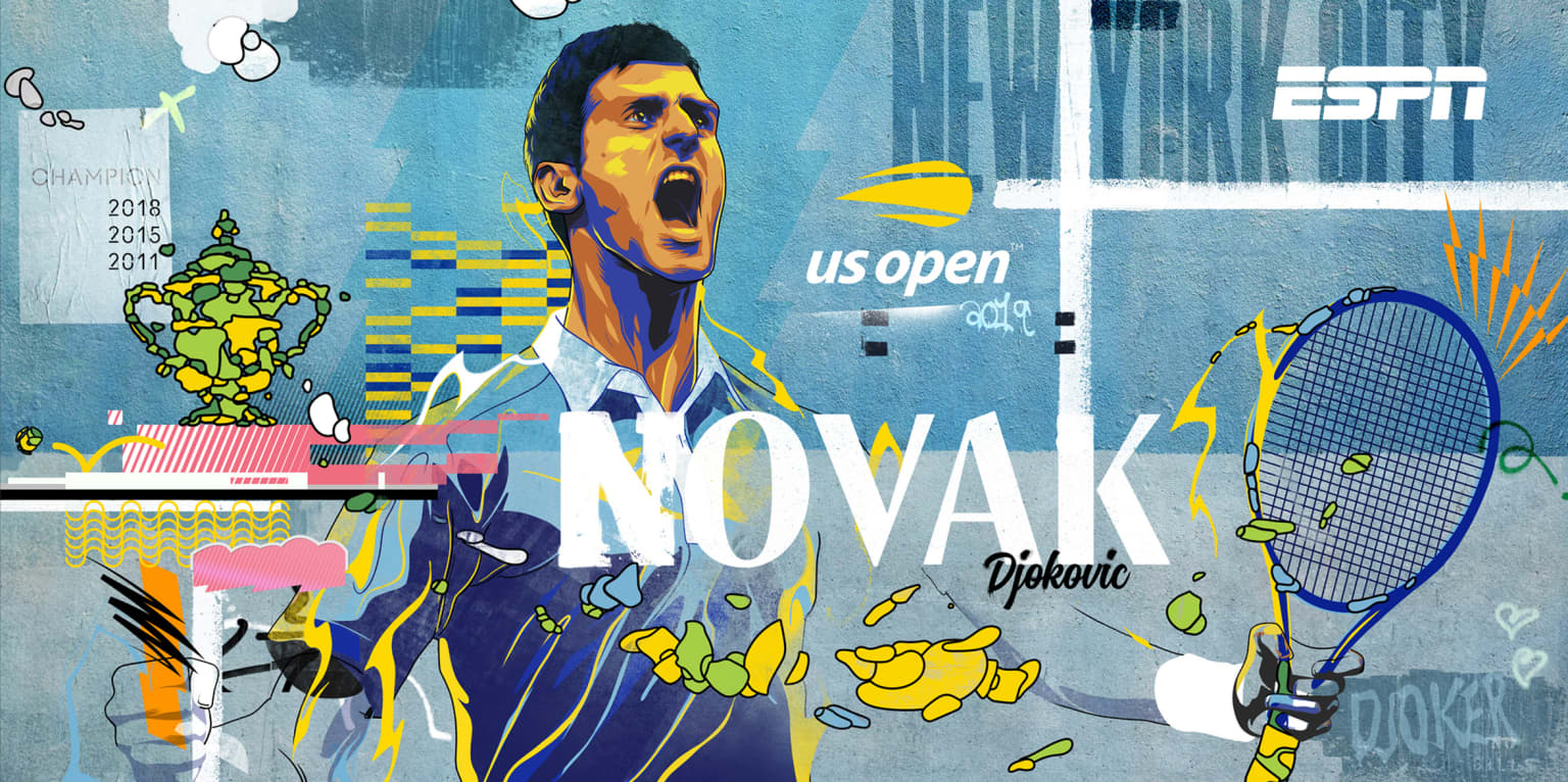 ESPN / US OPEN 2019 - Mural Campaign