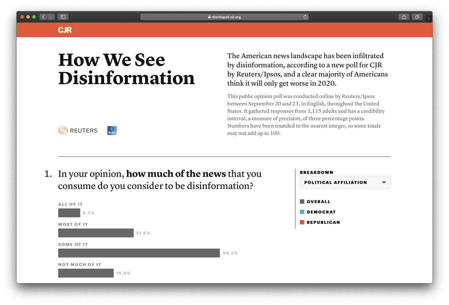 How We See Disinformation