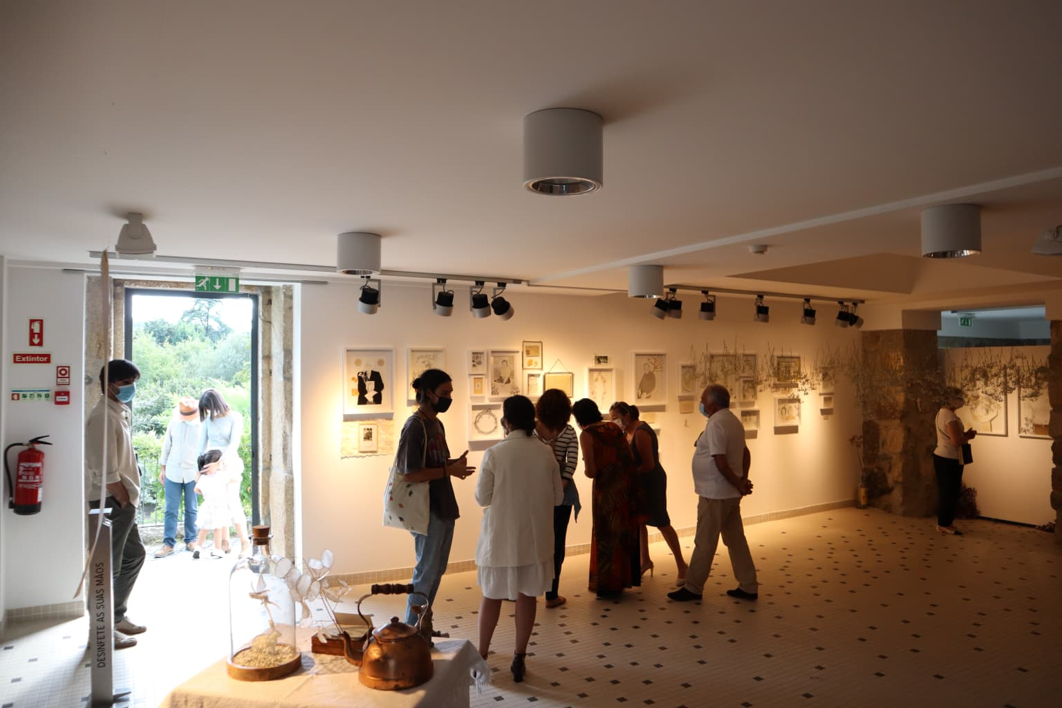From the womb to the Earth - exhibition project