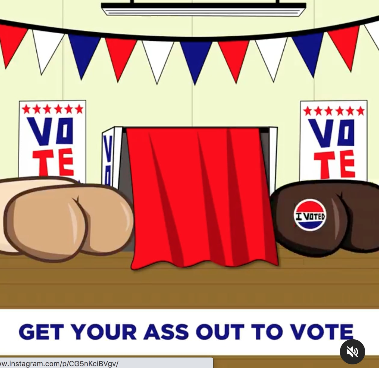 Get Your Ass Out to Vote!!!