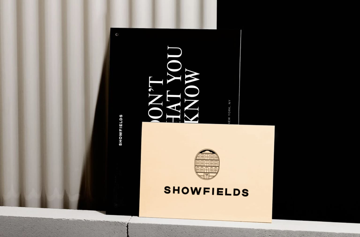 Showfields - Collateral