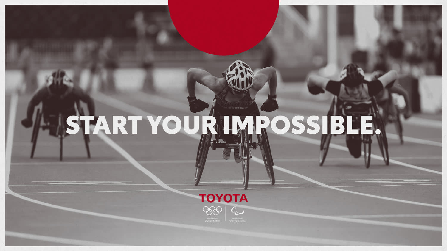 TOYOTA: START YOUR IMPOSSIBLE — TOKYO 2020 OLYMPICS