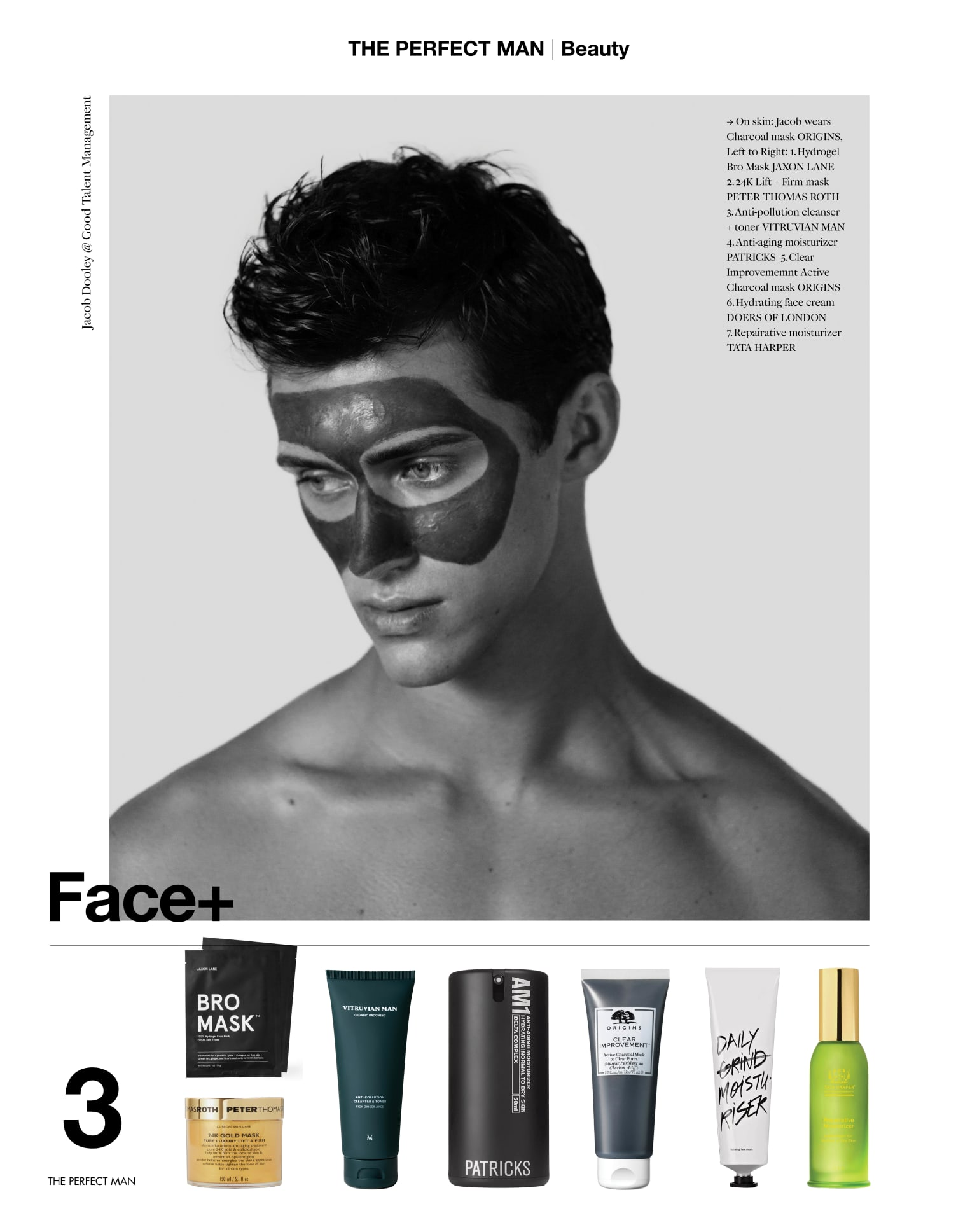 All Eyes On You for Perfect Man Magazine