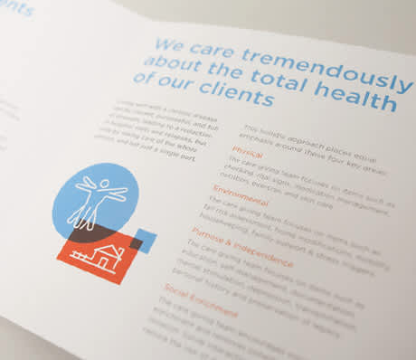 Healthcare sales collateral