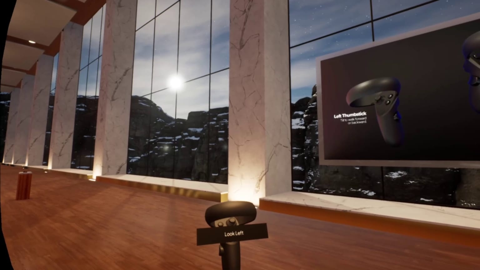VR Movement and Interaction Demo