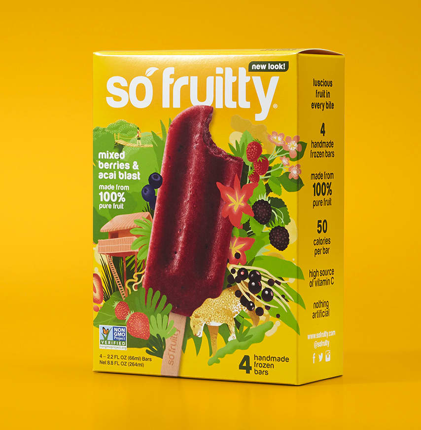 SoFruitty Packaging Design