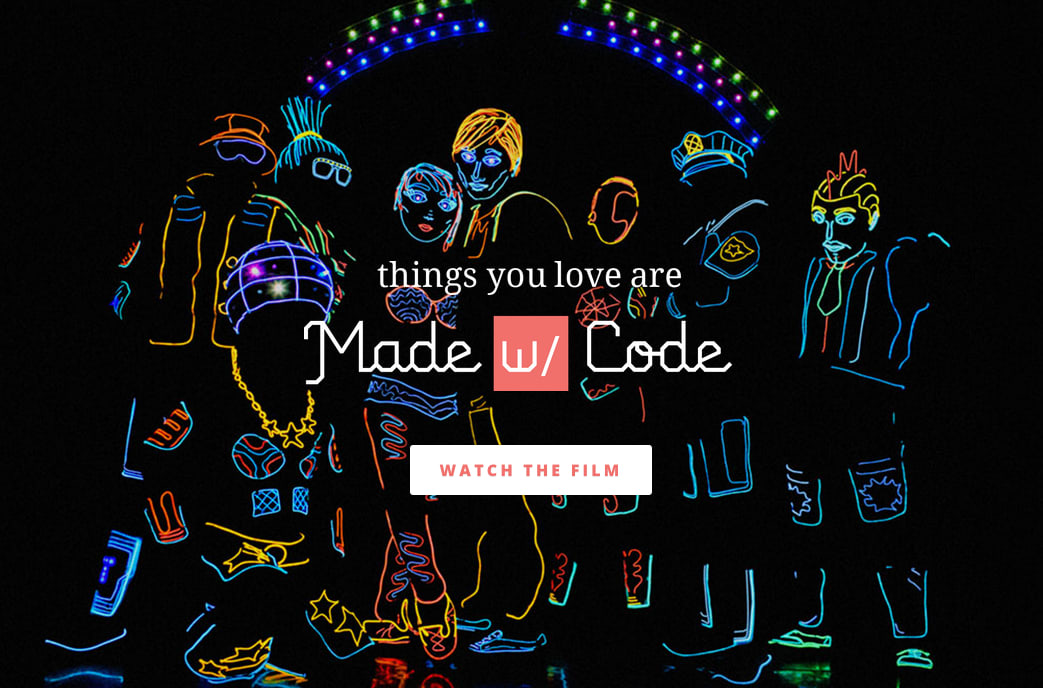 Made With Code launch video & website & app