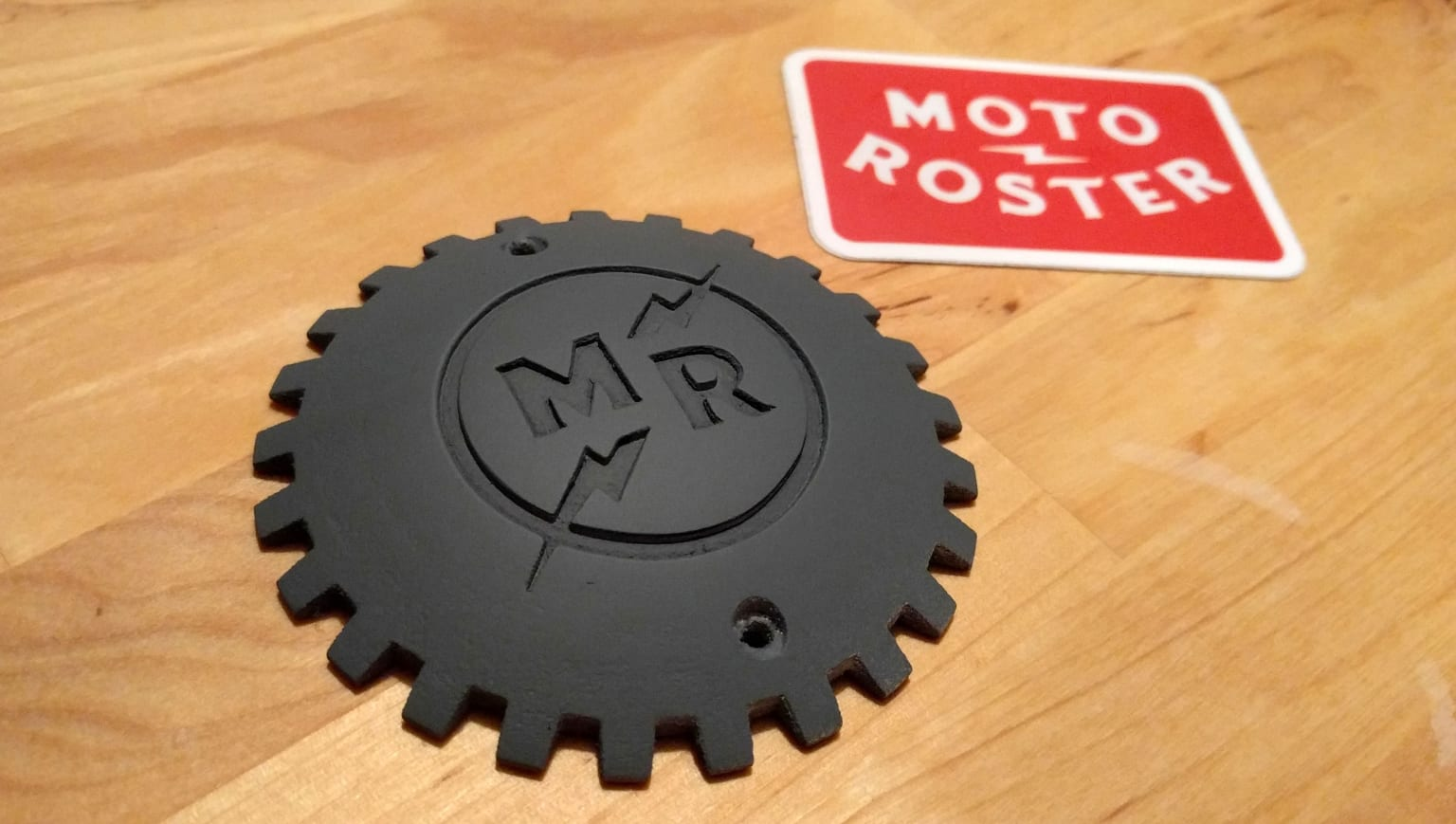 Moto Roster Connected Badges