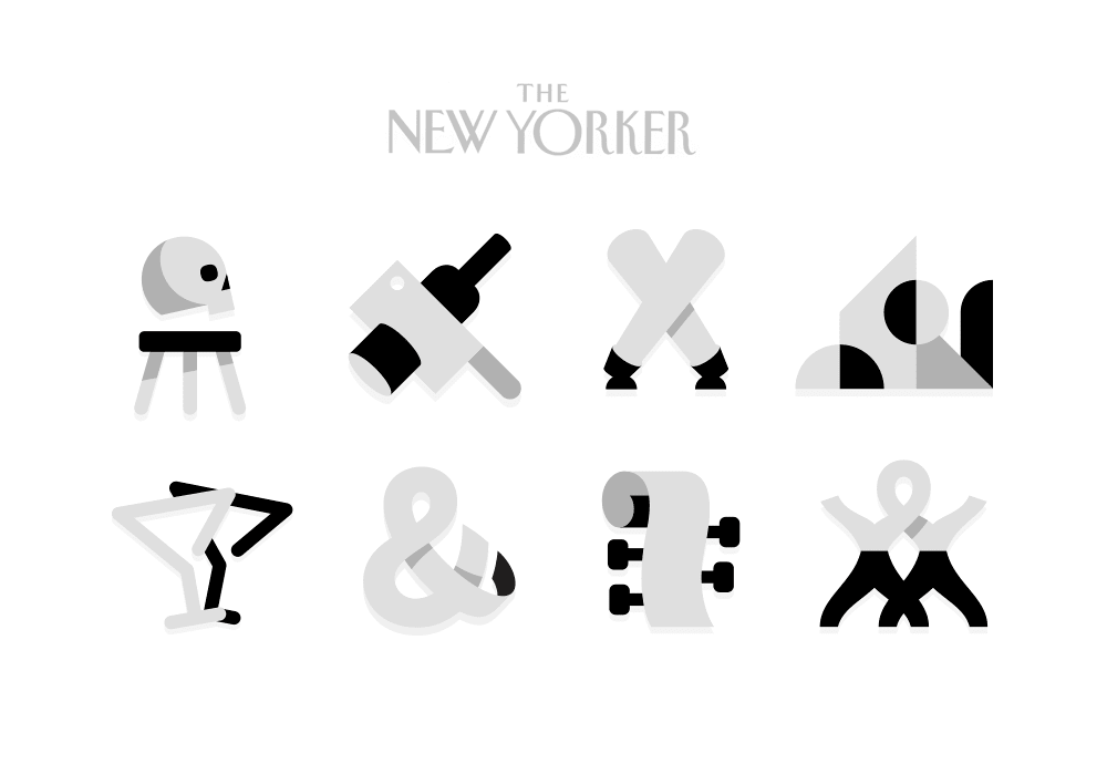 The New Yorker : Goings On About Town Illustrations