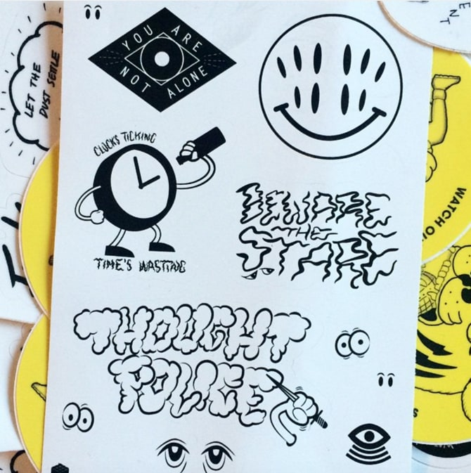 Oubliette Stickers