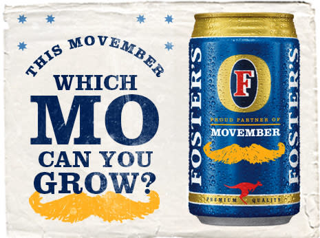 Foster's Movember Banners