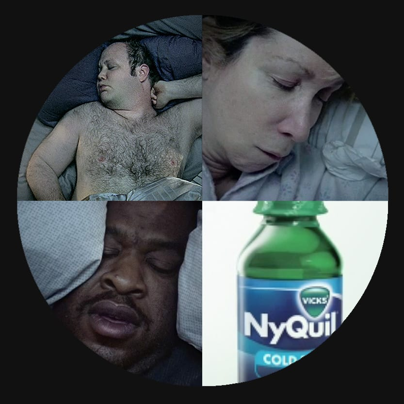NyQuil - Ugly Sleepers
