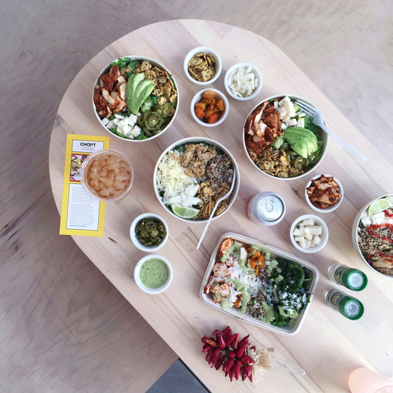 Chopt Salad—Special Projects