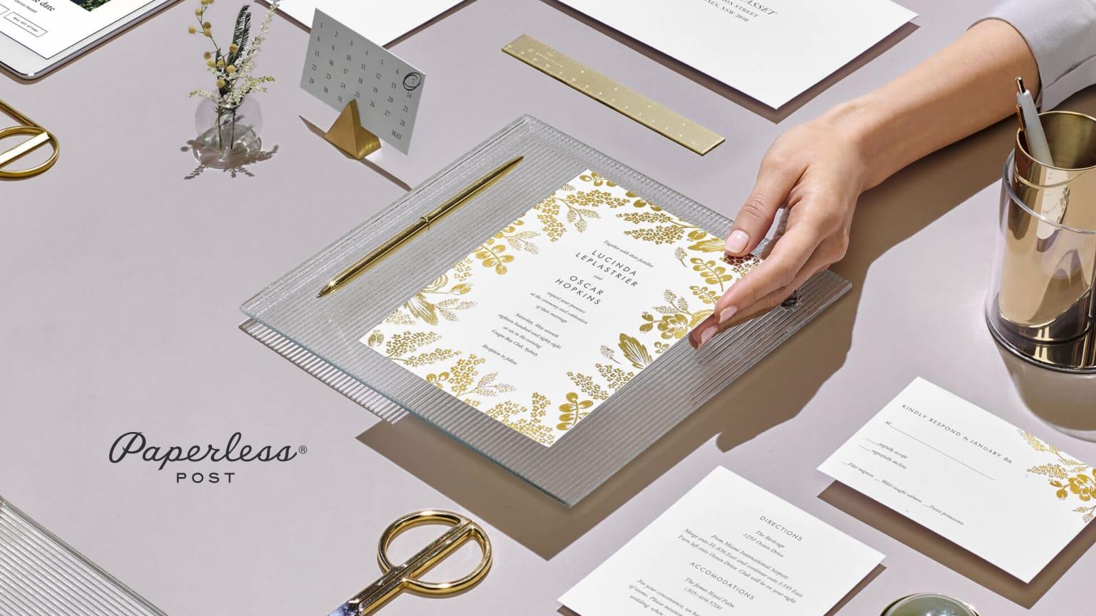Paperless Post Wedding 2017