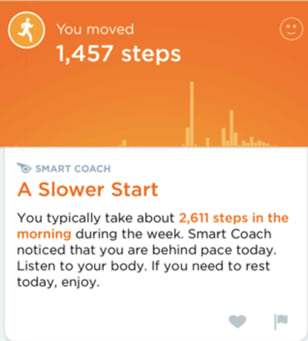 Smart Coach Insights: Up by Jawbone